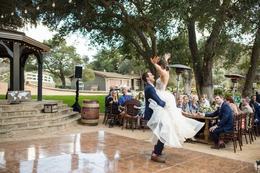 Lauren & Jake's Travel-Themed Vineyard Wedding