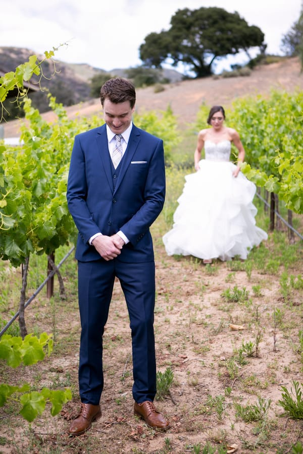 Lauren & Jake's Travel-Themed Vineyard Wedding