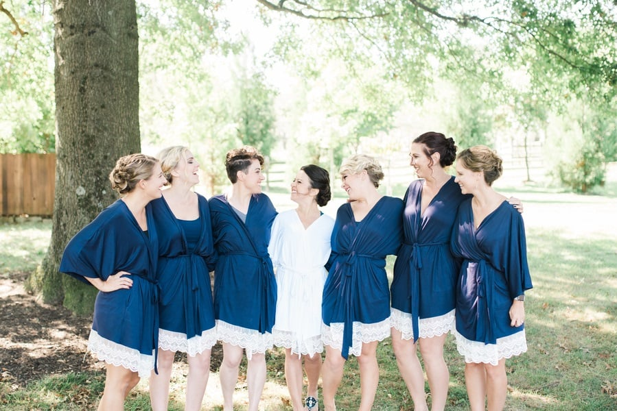 beautiful bridesmaid shot