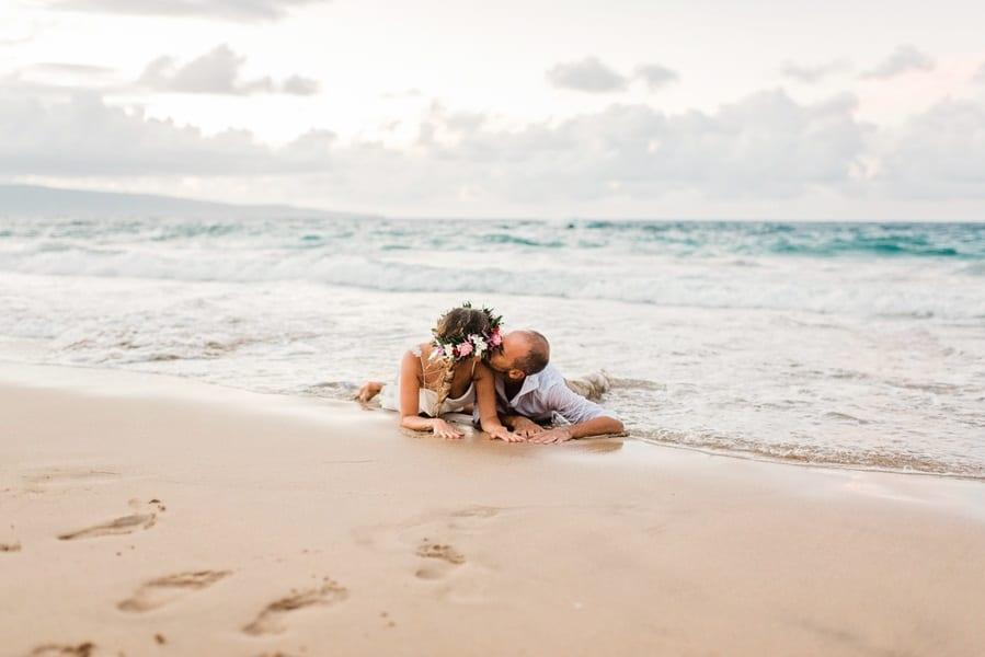 Hawaiian elopement