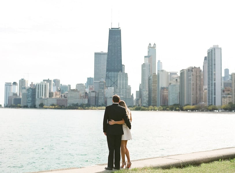 chicago skyline shoot