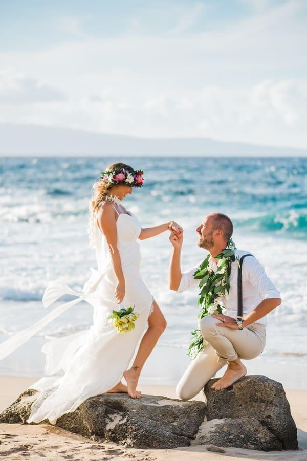 cute wedding shoot