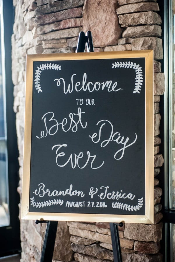 fabulous wedding signage