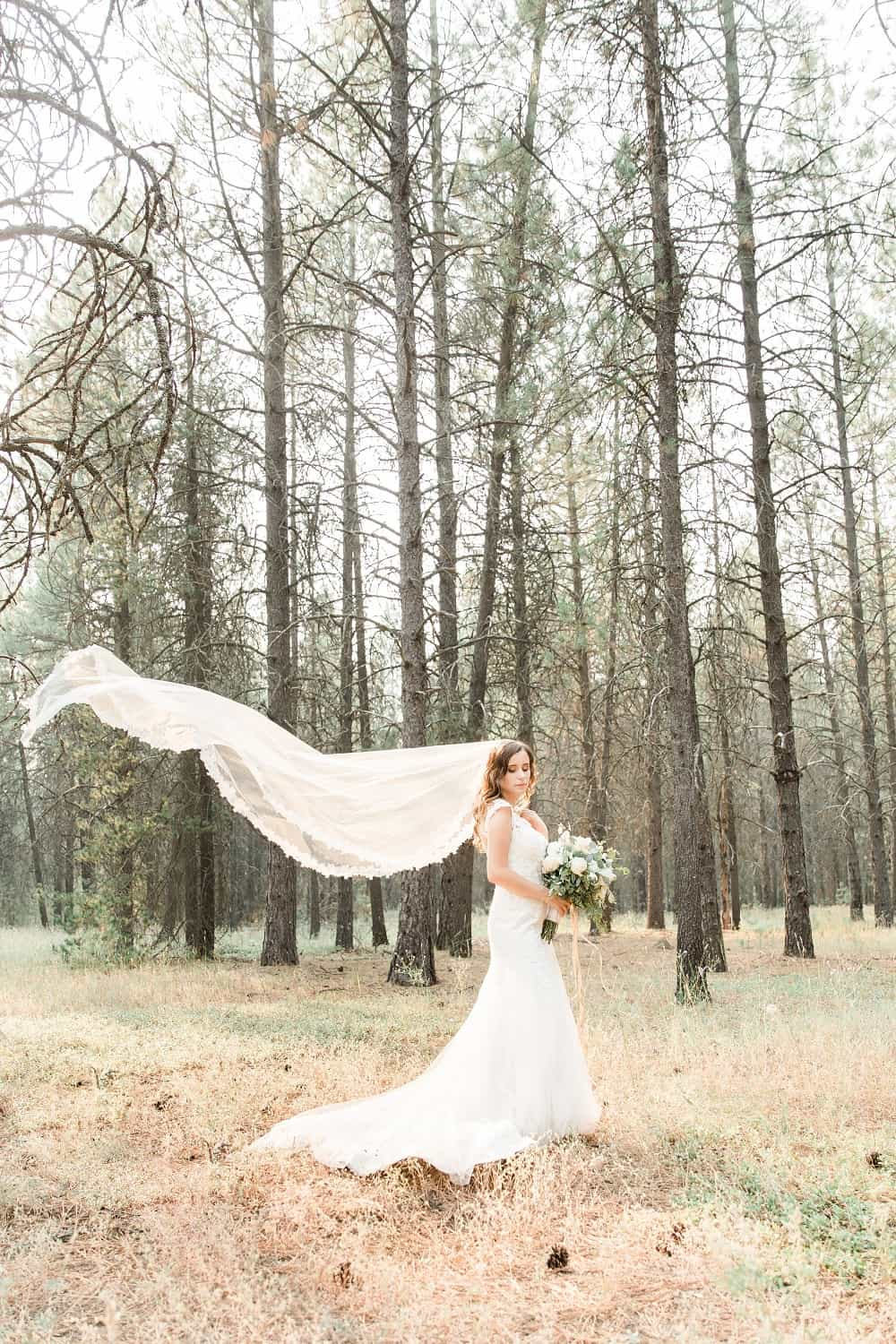 gorgeous bridal shot
