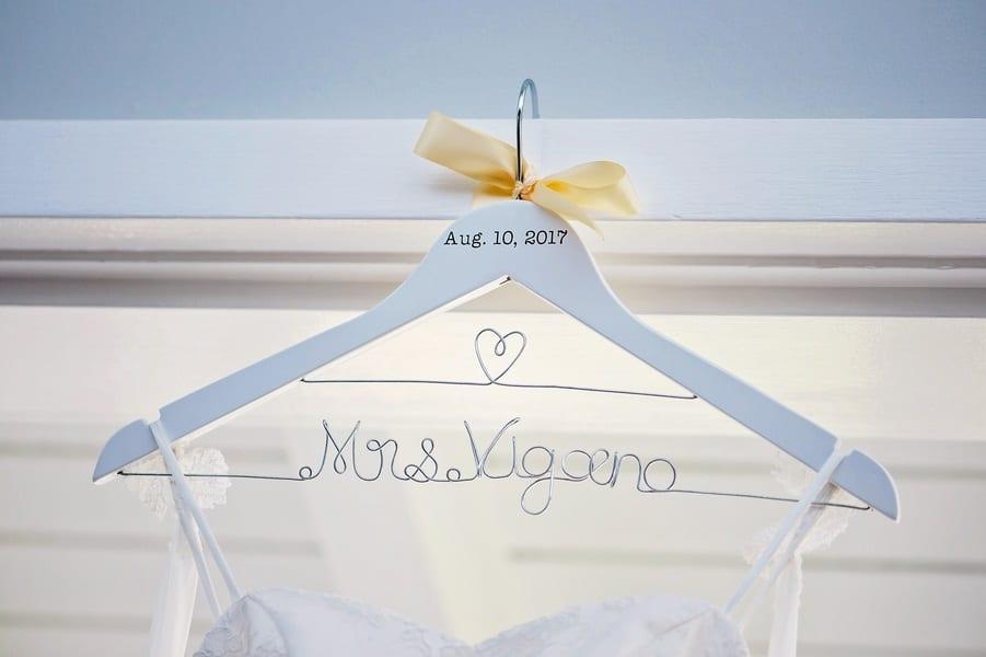 gorgeous wedding hanger