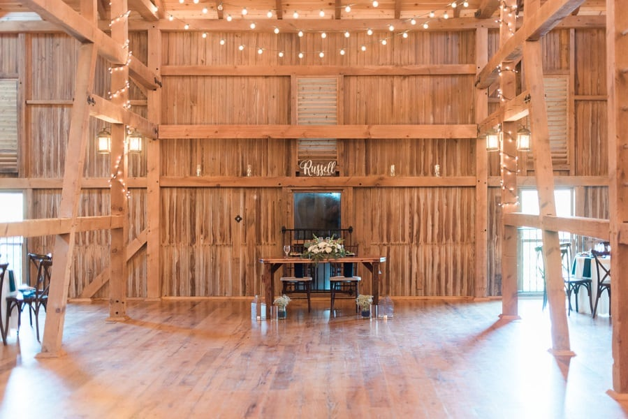 rustic sweetheart wedding