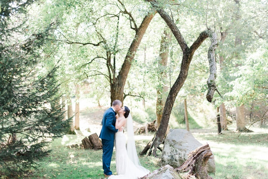 woodland ranch wedding