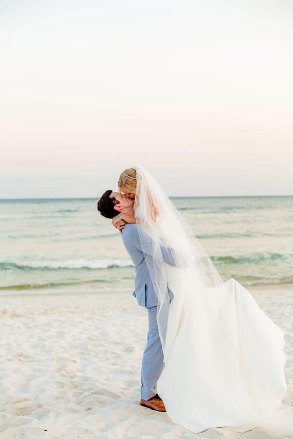 Courtney + Jason's Destination Beach Wedding