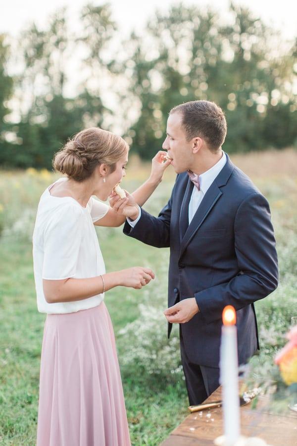Romantic Outdoor Anniversary Celebration