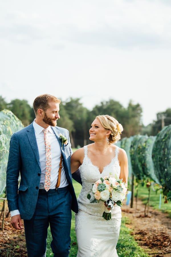 Vibrant Summer Winery Wedding