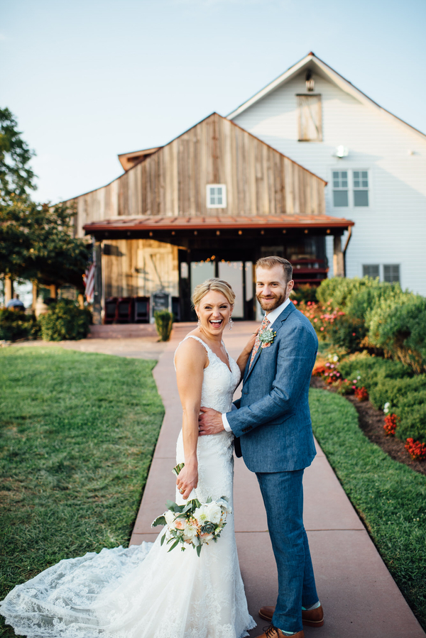 Vibrant Summer Winery Wedding