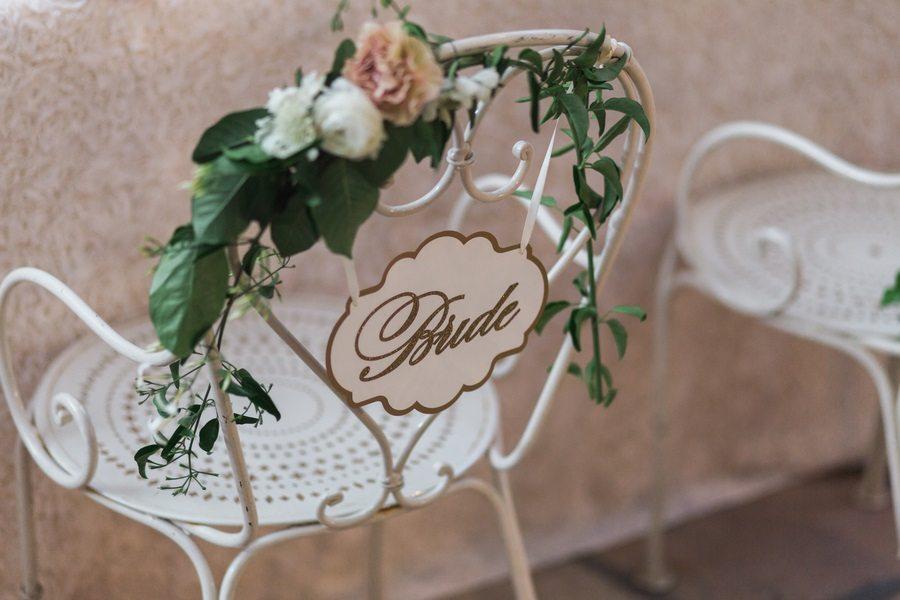bridal signage