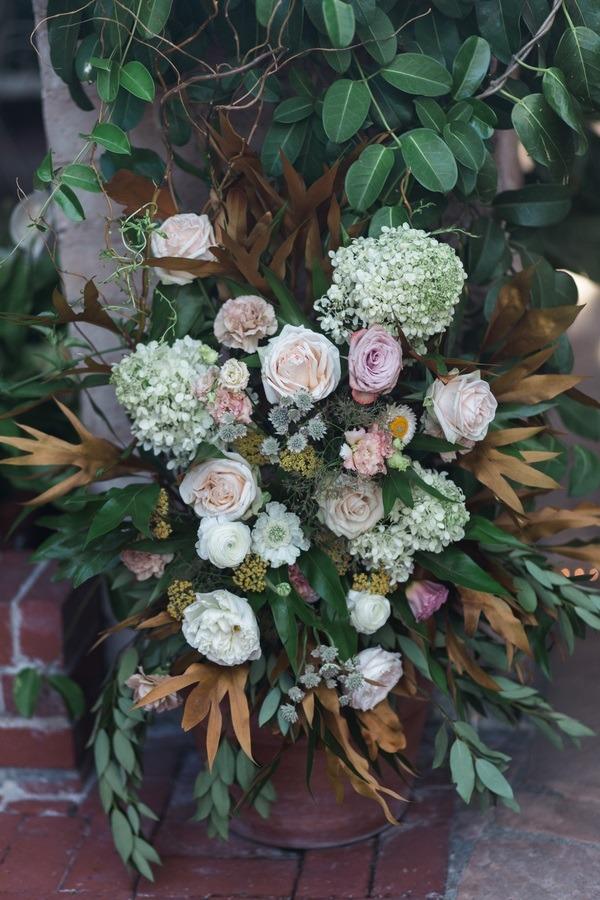 floral wedding decor
