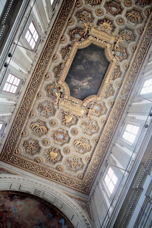 gorgeous church ceilings