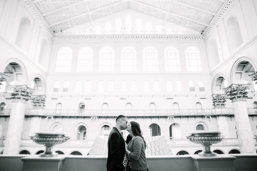 gorgeous museum engagement