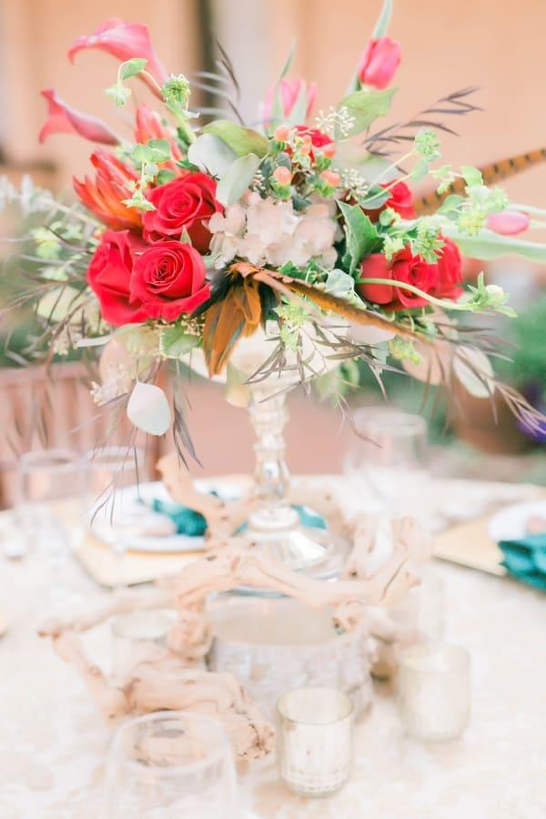 gorgeous table centrepieces