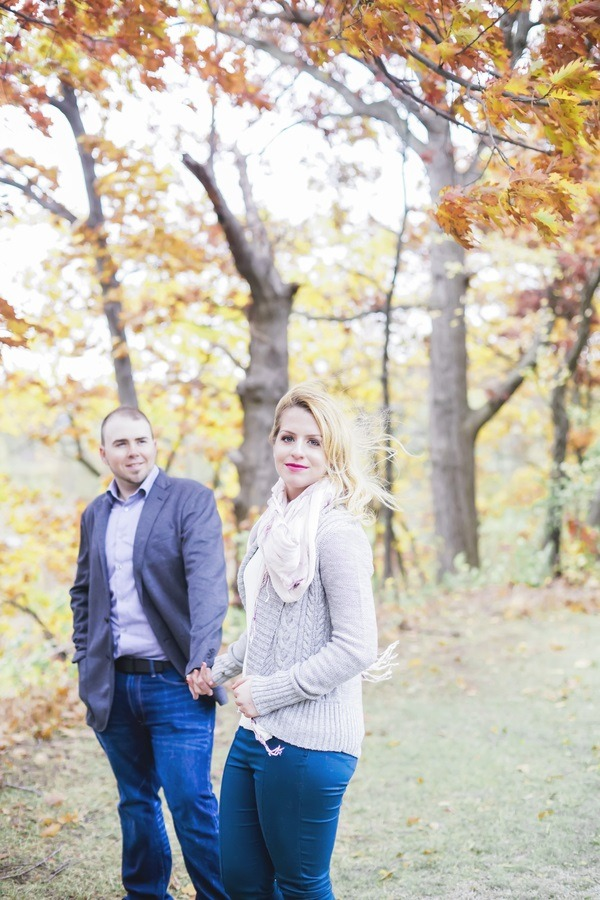 Cozy Fall Engagement Session