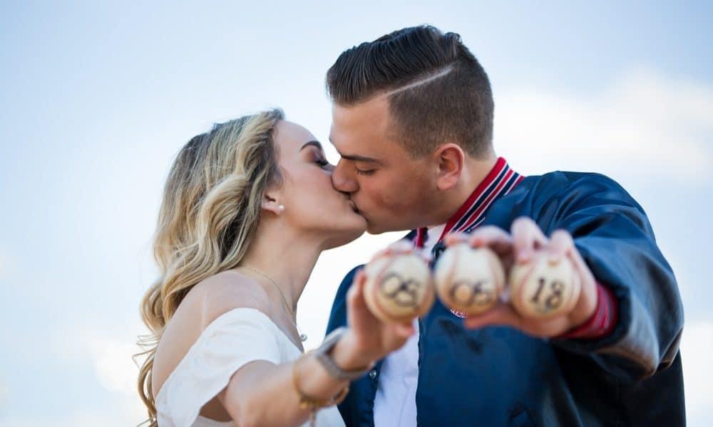 A Baseball Engagement Session