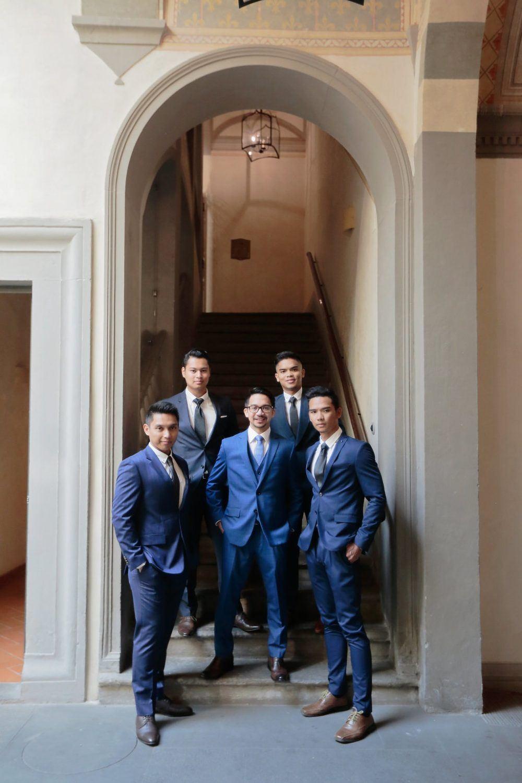 the groom crew