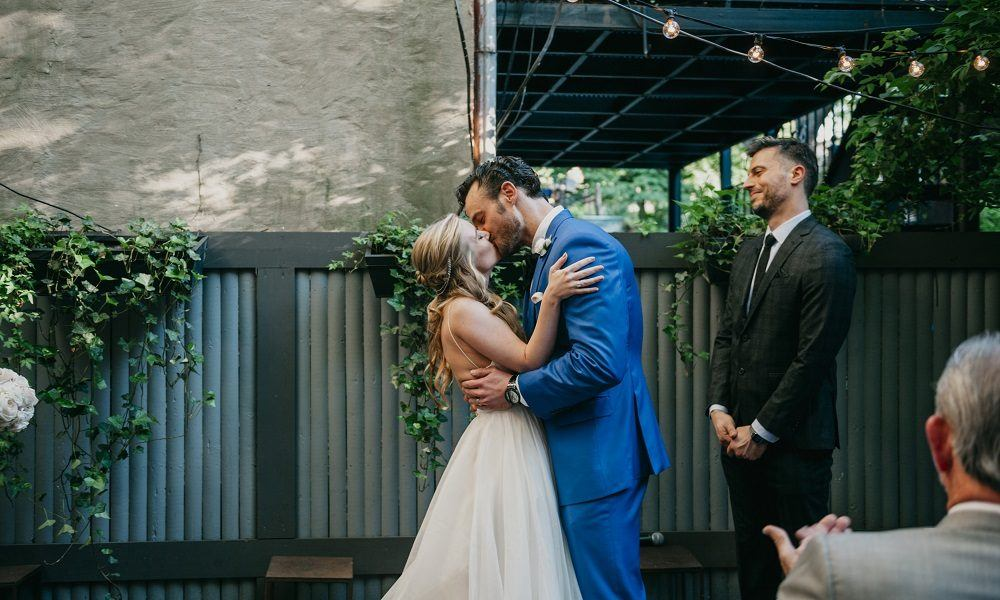 A Sweet and Intimate Brooklyn Wedding