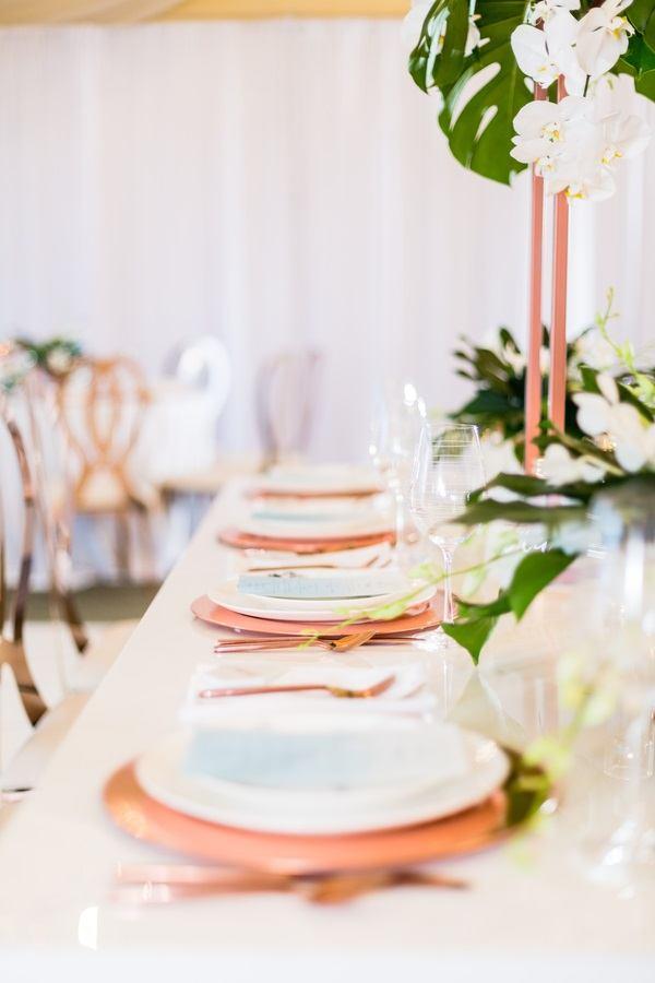 wedding decor setup