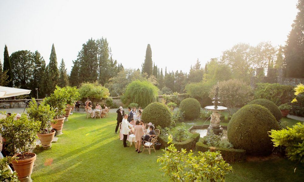 Timeless Castle Wedding in Florence Italy
