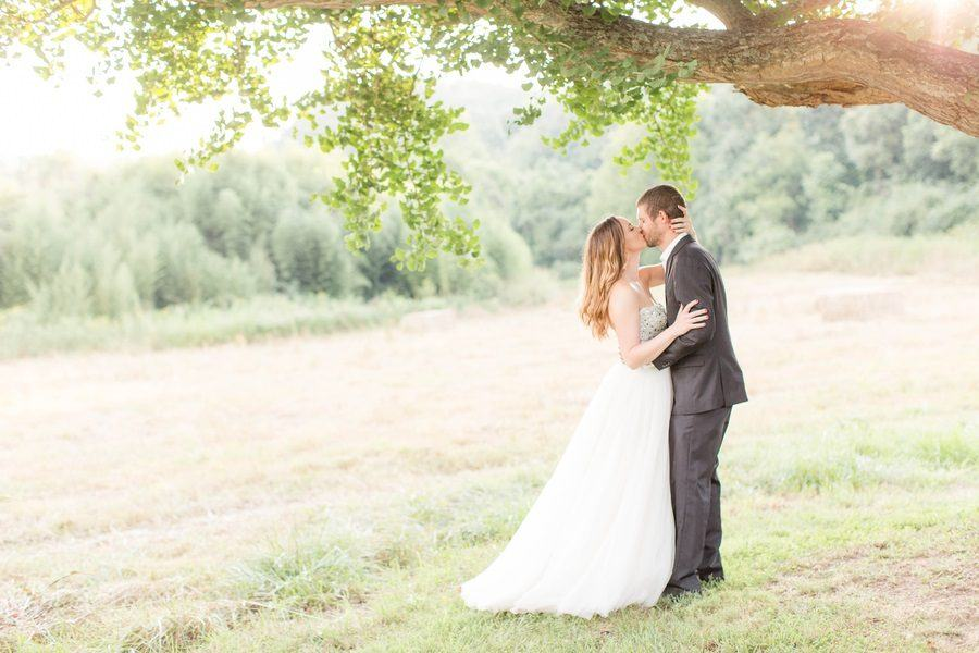 One-Year Wedding Anniversary Photo Shoot in Rural Virginia- These Are a Must-See!