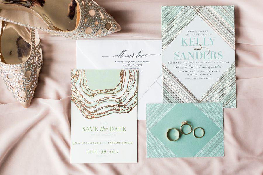 Romantic Blush and Green Garden Wedding