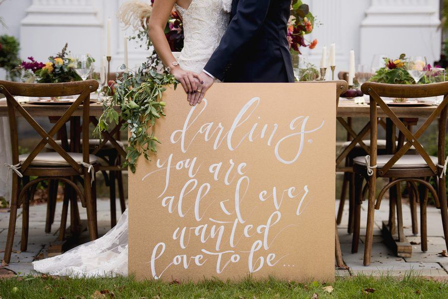 Fall Estate Inspiration Wedding
