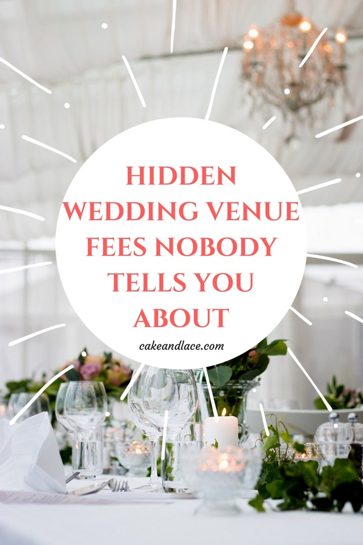 Hidden Wedding Venue Fees Nobody Tells You About