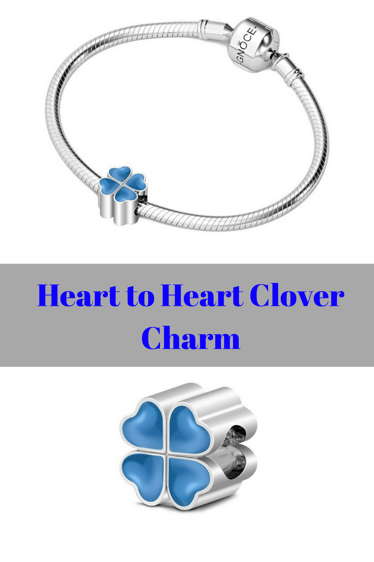 Heart to Heart Clover Charm