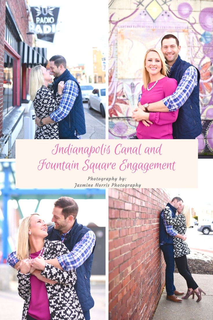 Indianapolis Canal and Fountain Square Engagement