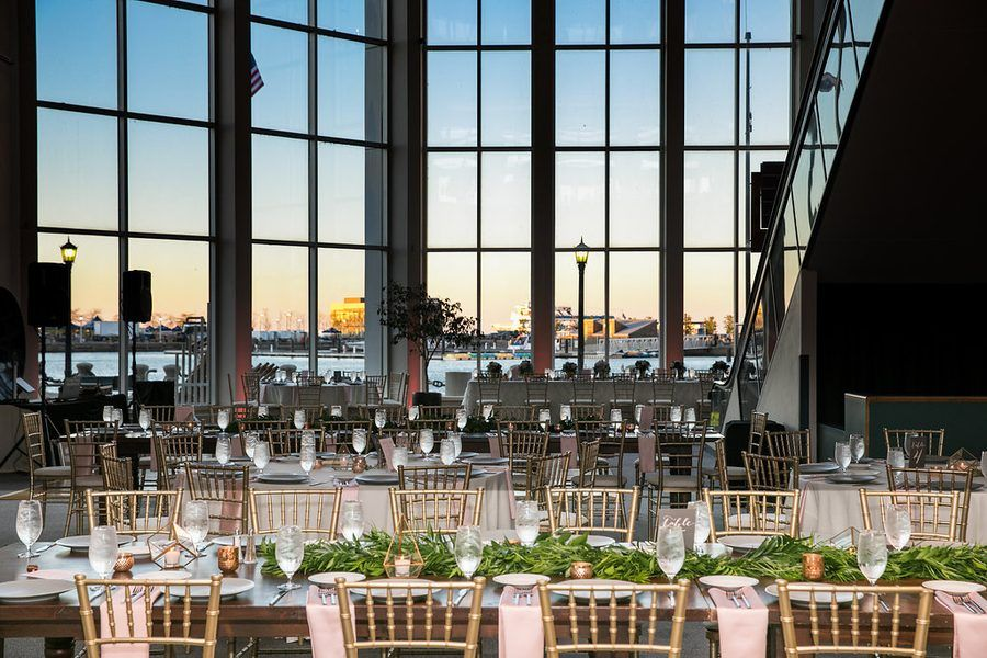 Metallic Modern Wedding at the Science Museum