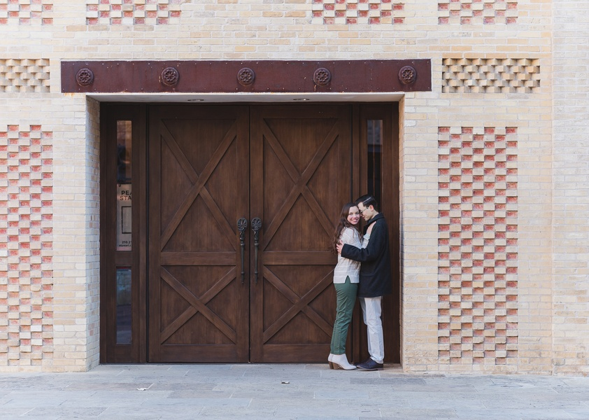 Charming Rustic Texas Engagement Session