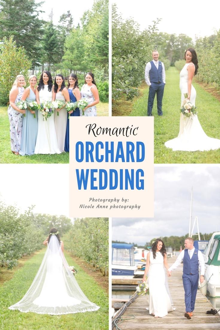 Romantic Orchard Wedding