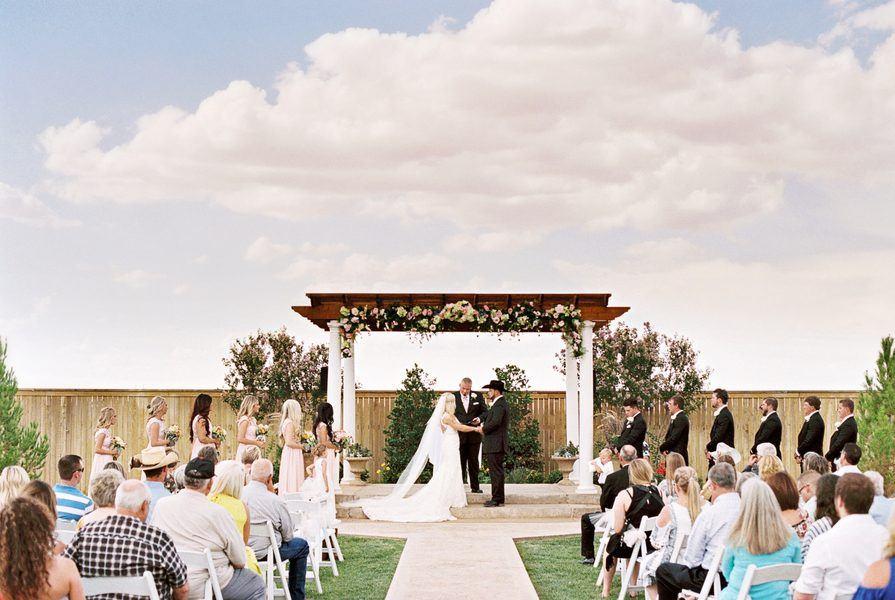 West Texas Outdoor Wedding