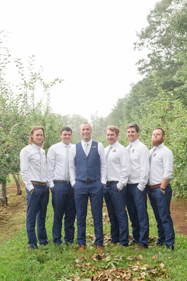 Romantic Orchard Wedding
