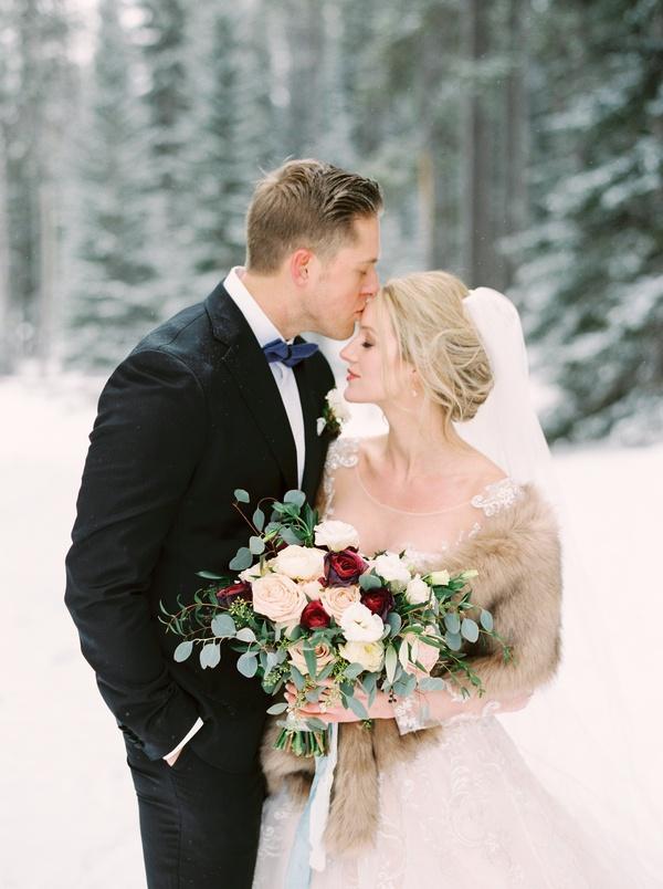 Elegant Winter Wedding at the Fairmont Banff Springs