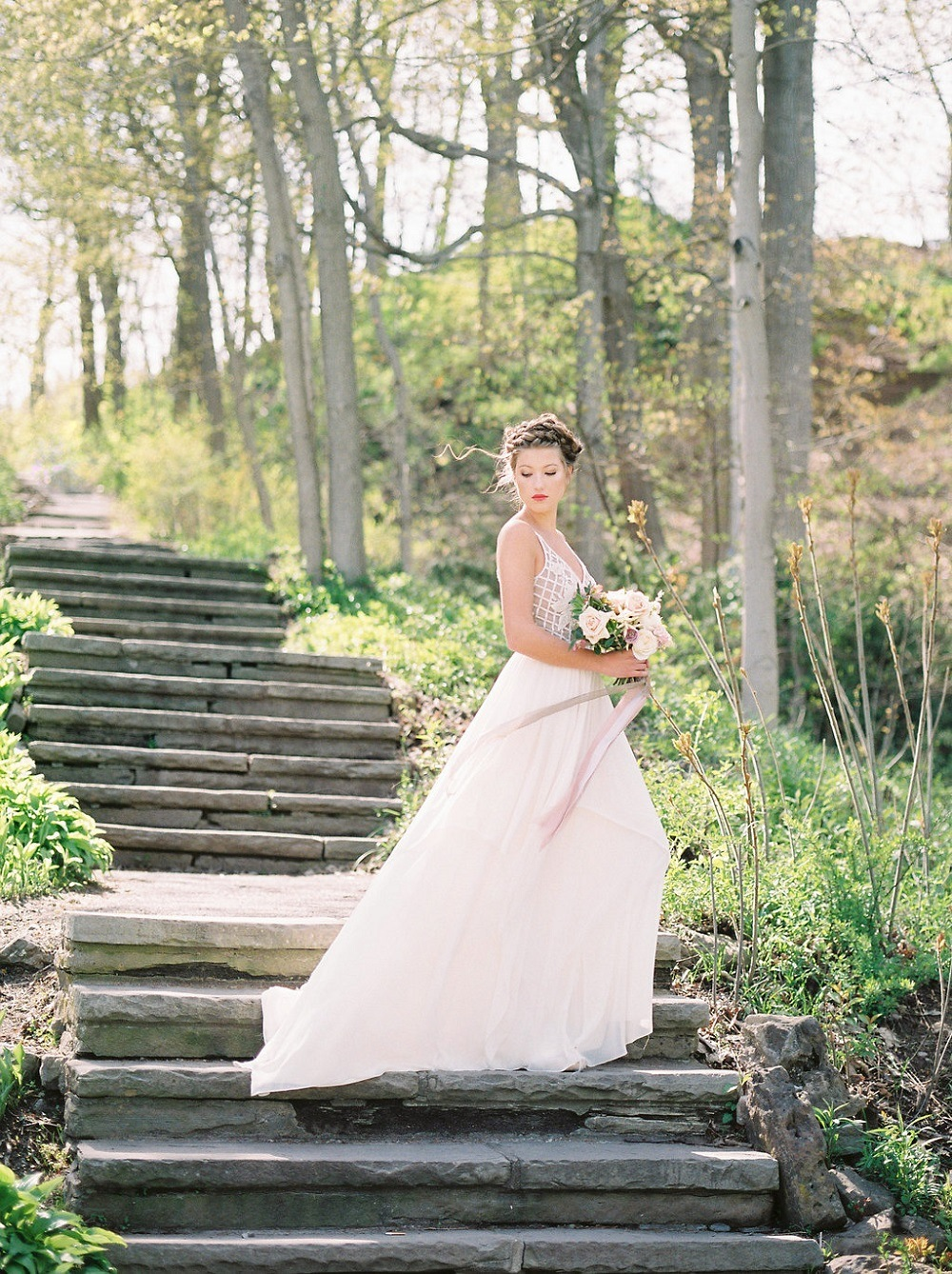 beautiful bridal shoot