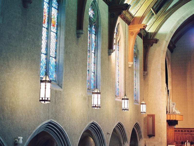 cathedral wedding ceremony