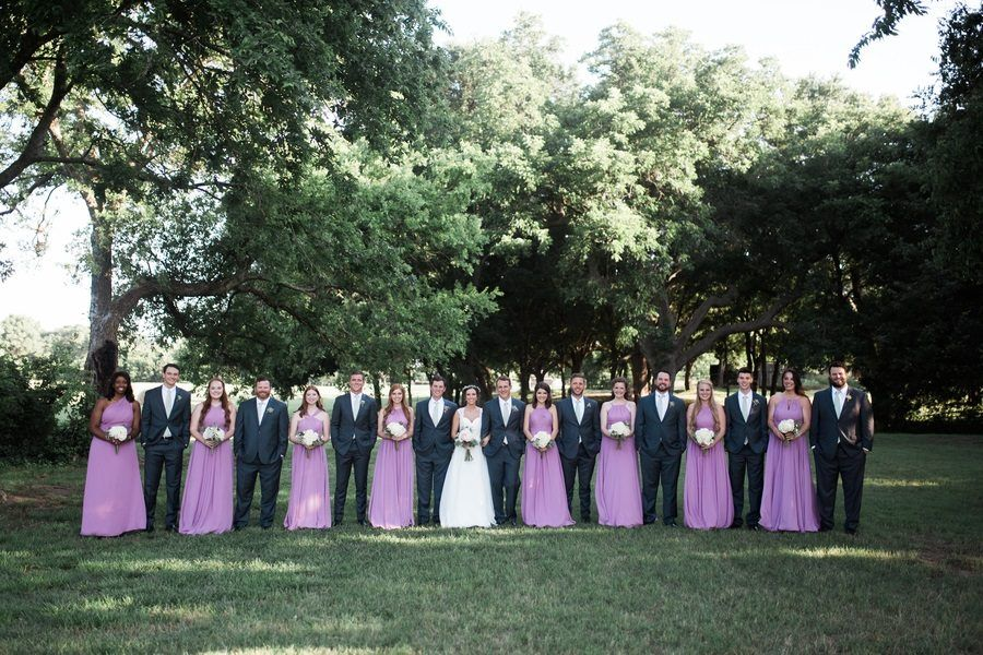 Castle Green With Pops of Purple Wedding- You Won't Have Seen a Wedding Like This Before!
