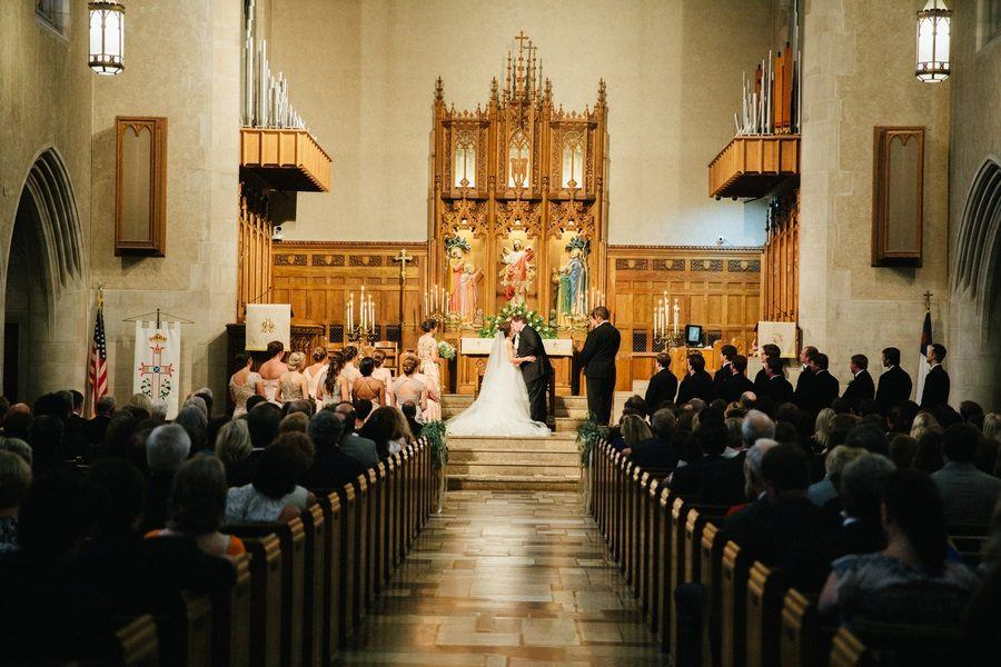 The Most Glamorous and Romantic Southern Cathedral Wedding You'll Ever See