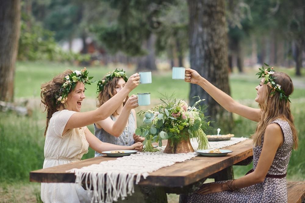Floral Themed Bridal Shower