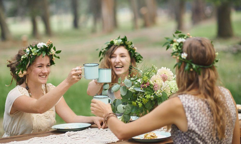 A Stunning Floral Themed Bridal Shower by Wallowa Lake