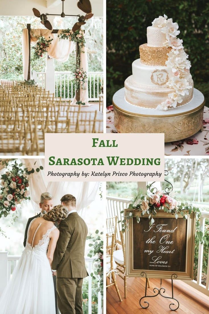 Fall Sarasota Wedding