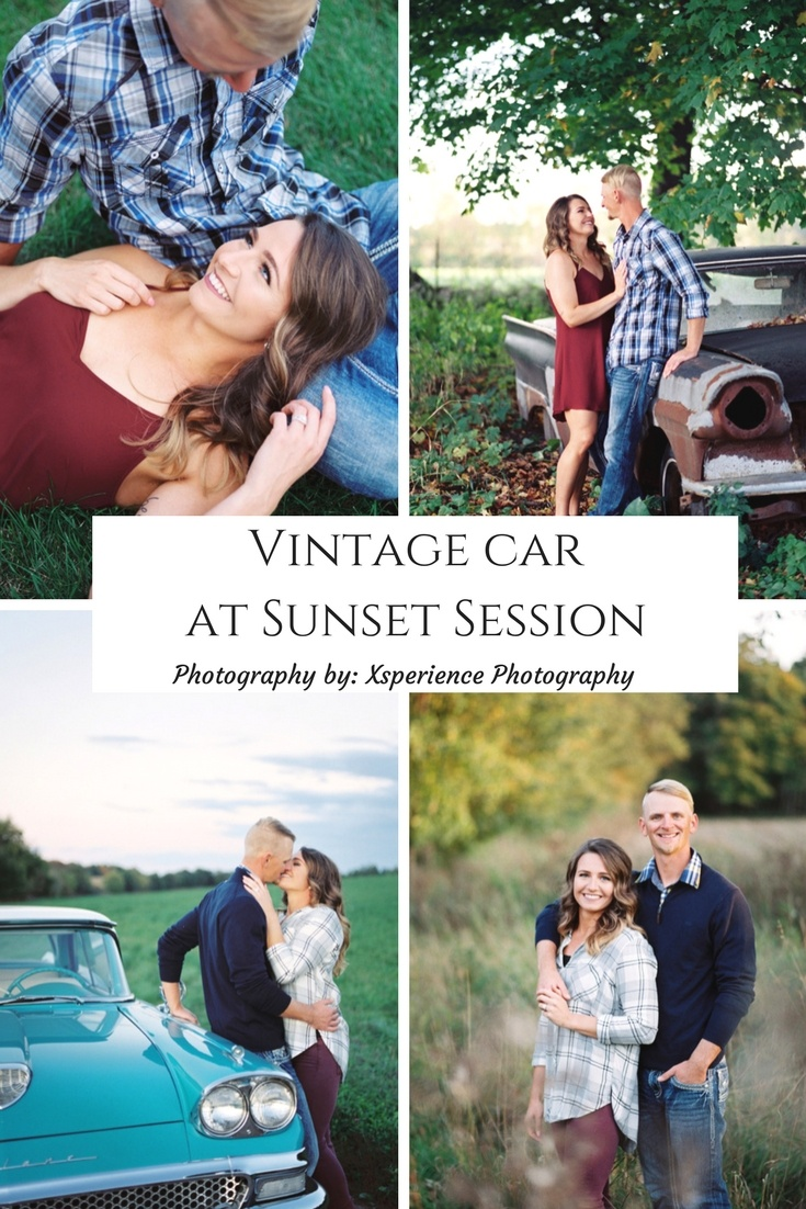 Vintage car at Sunset Session