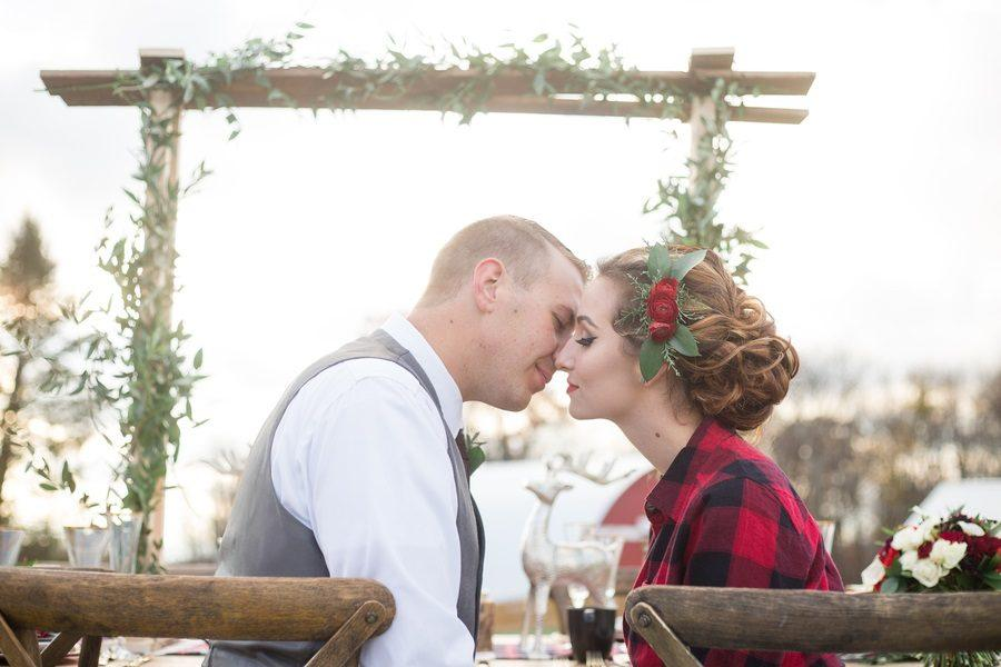 Cozy Country Plaid Wedding Inspiration: An Absolute Must-See