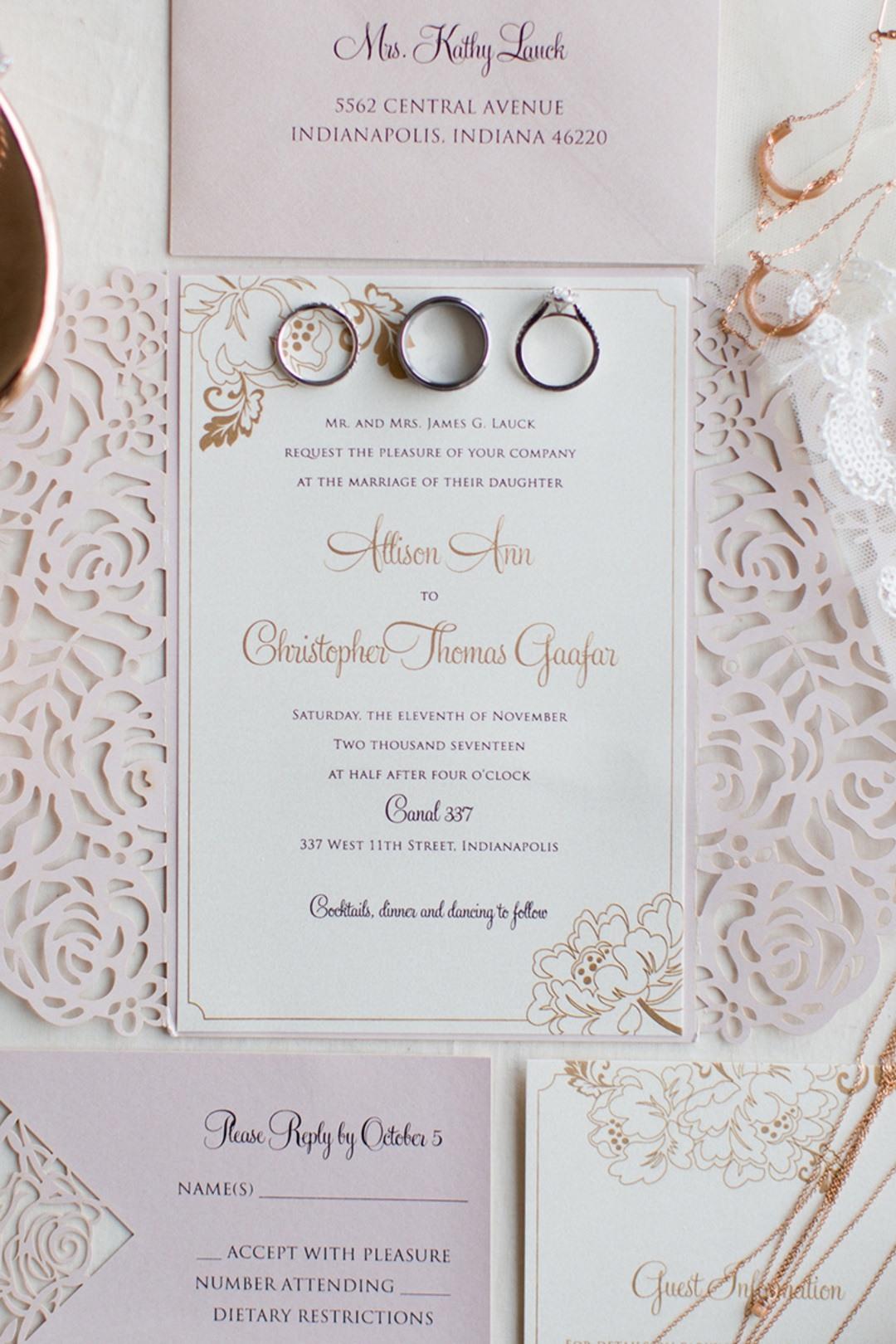 contemporary wedding