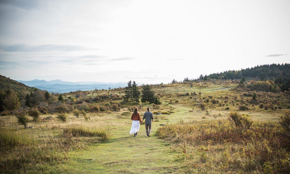 Grayson Highlands Engagement Love Story