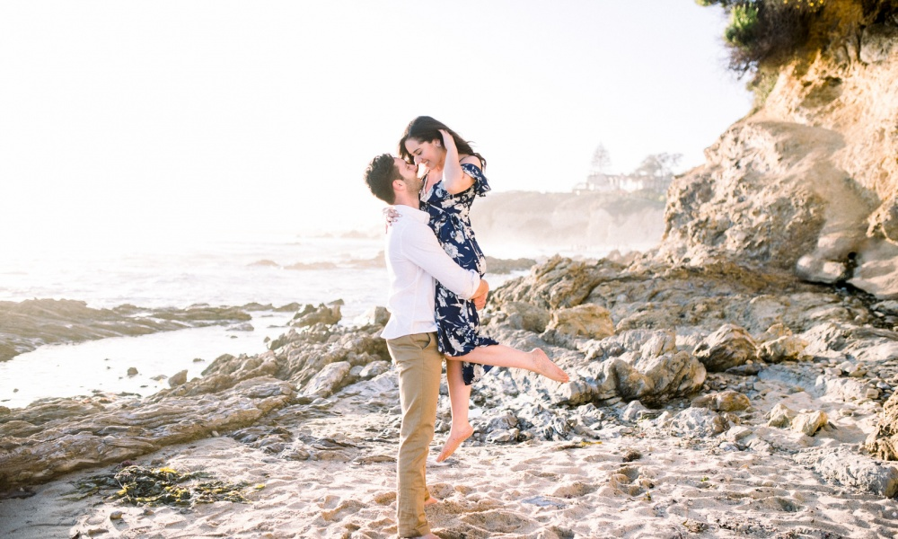 Baltar & Meng Beach Engagement